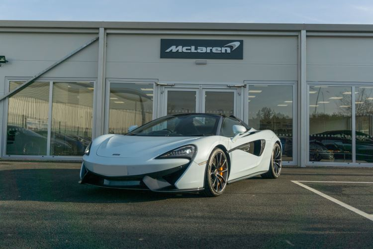 McLaren 570S Spider MSO LAUNCH EDITION image 1