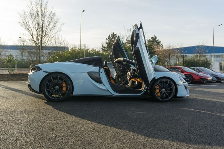 McLaren 570S Spider MSO LAUNCH EDITION image 23