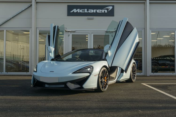 McLaren 570S Spider MSO LAUNCH EDITION image 24