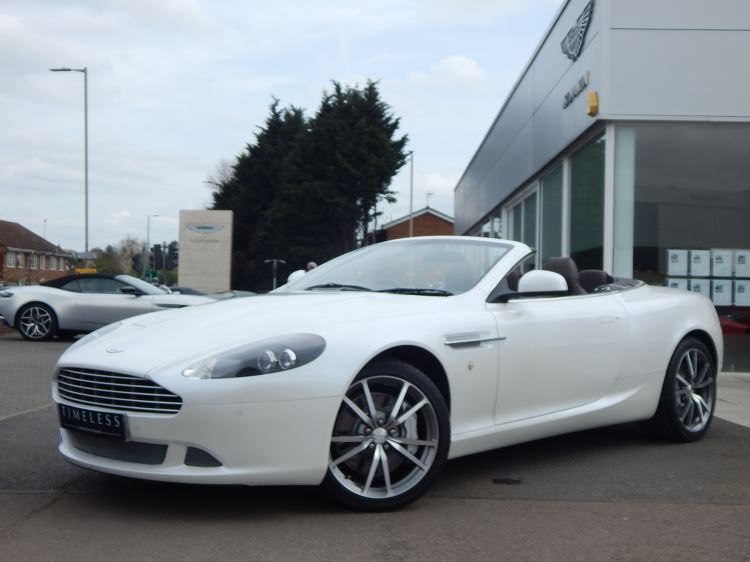 Aston Martin DB9 V12 2dr Volante Touchtronic [470] 5.9 Automatic 3 door Convertible (2011)