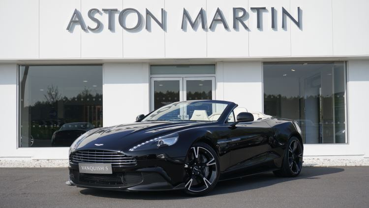 Aston Martin Vanquish V12 [595] S Volante Touchtronic 5.9 Automatic 2 door Convertible (16MY) image