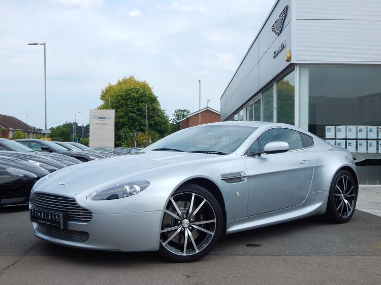 Aston Martin V8 Vantage Coupe 2dr Sportshift 4.3 Automatic 3 door Coupe (2007) image