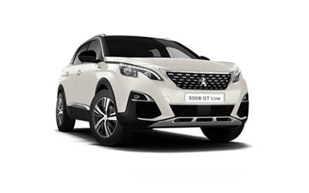 New Peugeot 3008 SUV GT Line Cars