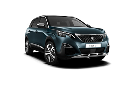 New Peugeot 5008 SUV GT Cars