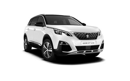 New Peugeot 5008 SUV GT Line Cars