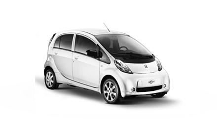New Peugeot iOn Cars