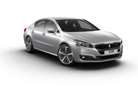 New Peugeot 508 Saloon Cars