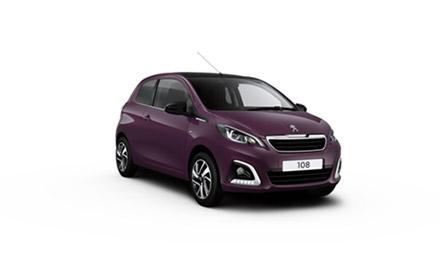New Peugeot 108 Cars