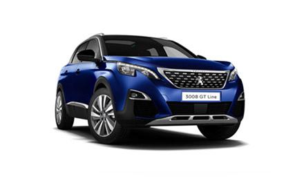 New Peugeot 3008 SUV GT Line Premium Cars