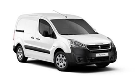 New Peugeot Partner Vans