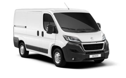 New Peugeot Boxer Vans
