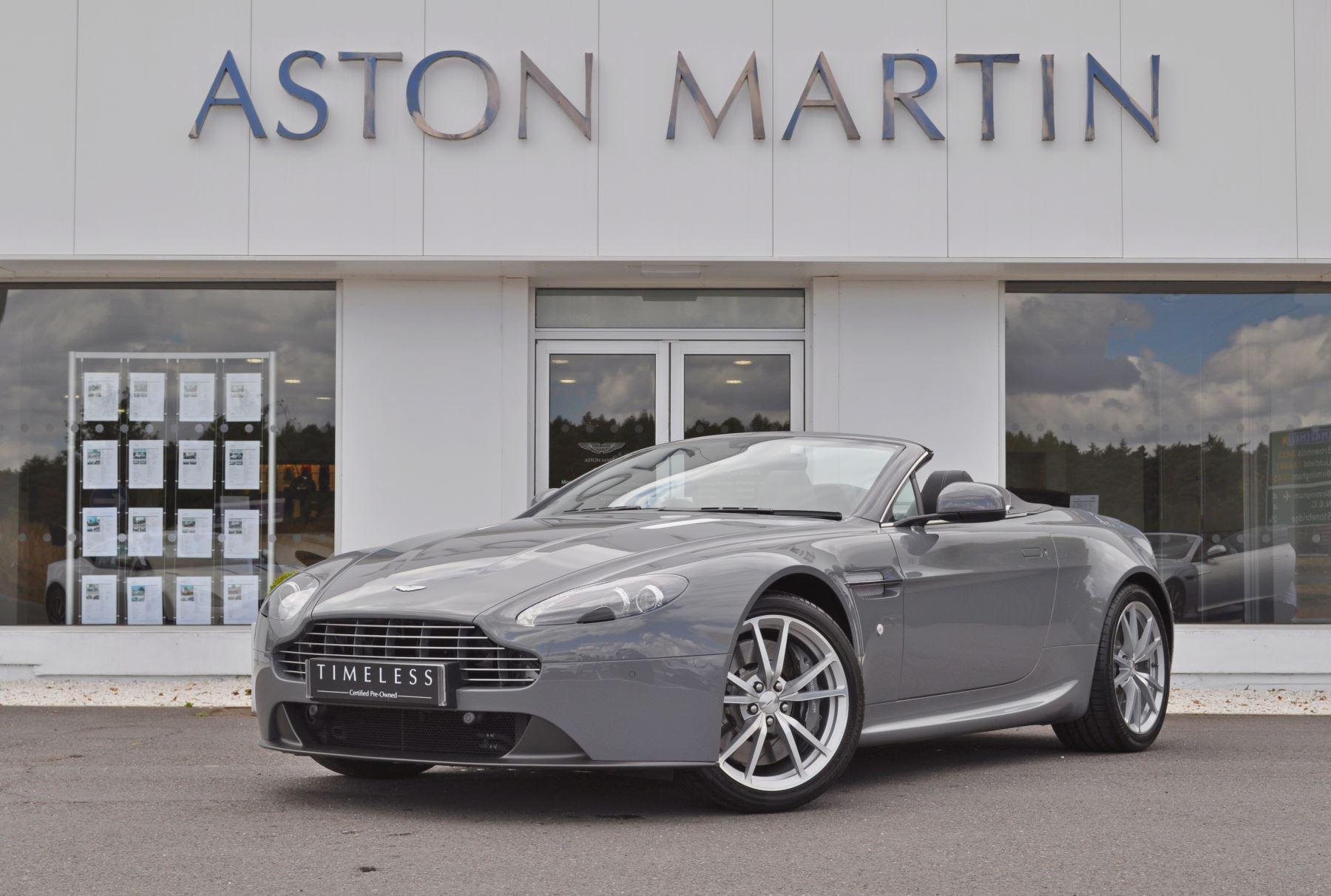Aston Martin V8 Vantage Roadster 2dr Sportshift [420] 4.7 Automatic Roadster (2014) image