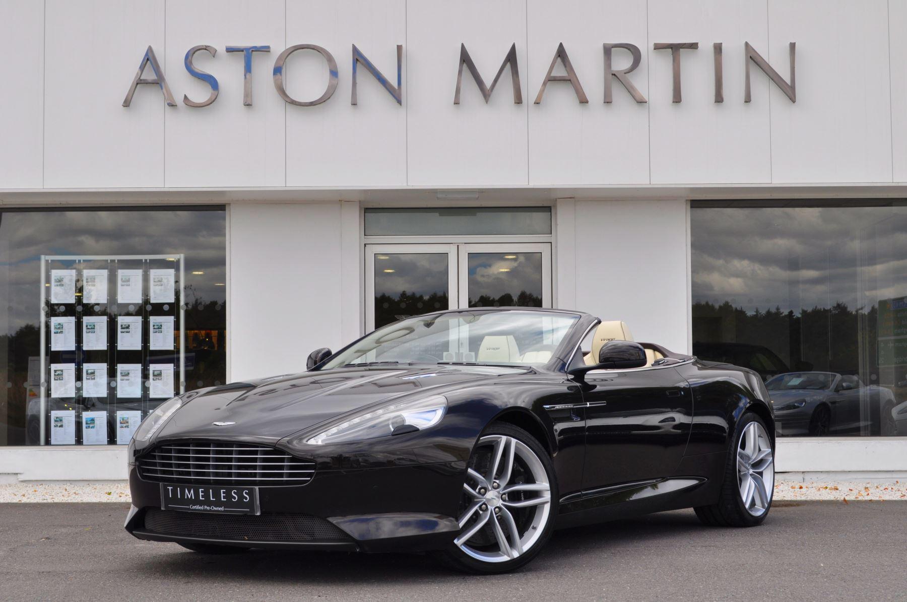Aston Martin Virage V12 2dr Volante Touchtronic 5.9 Automatic Convertible (2012) image