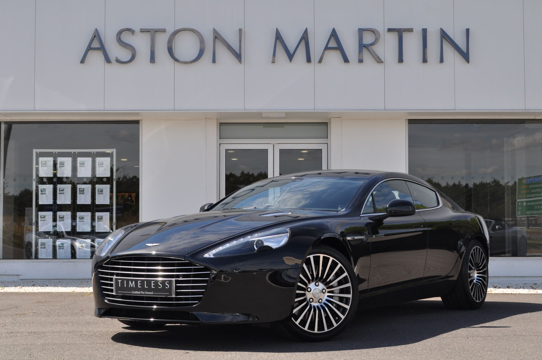 Aston Martin Rapide S V12 [552] 4dr Touchtronic III Auto 5.9 Automatic Saloon (2015)