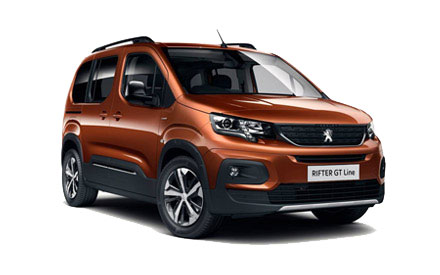 Peugeot Rifter - From £0 Advance Payment