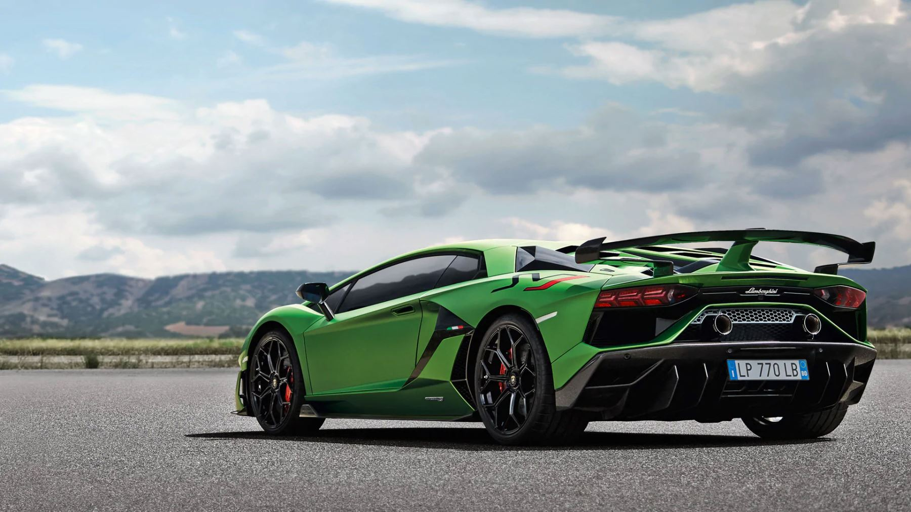 Lamborghini Aventador Svj Coupe Real Emotions Shape The Future