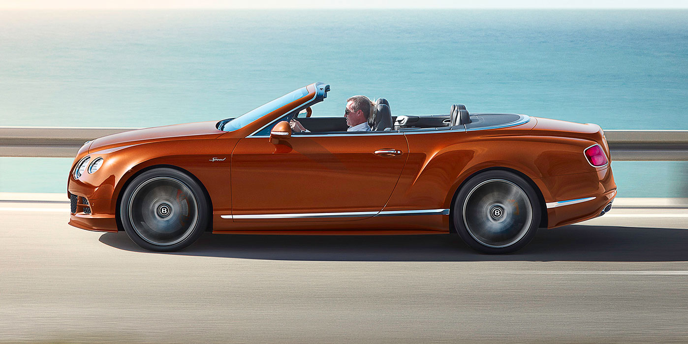 Bentley Continental GT Speed Convertible - Take in more of every spectacular journey image 2