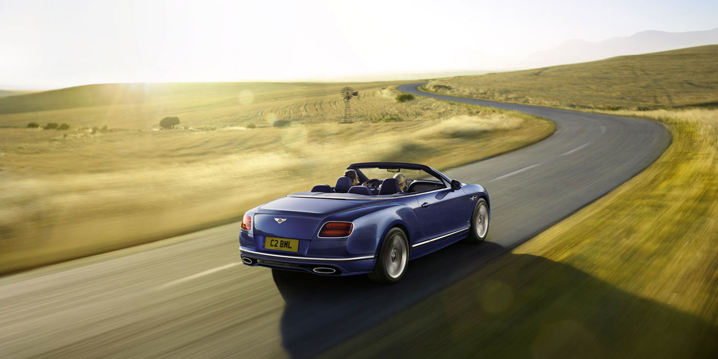 Bentley Continental GT Speed Convertible - Take in more of every spectacular journey image 5
