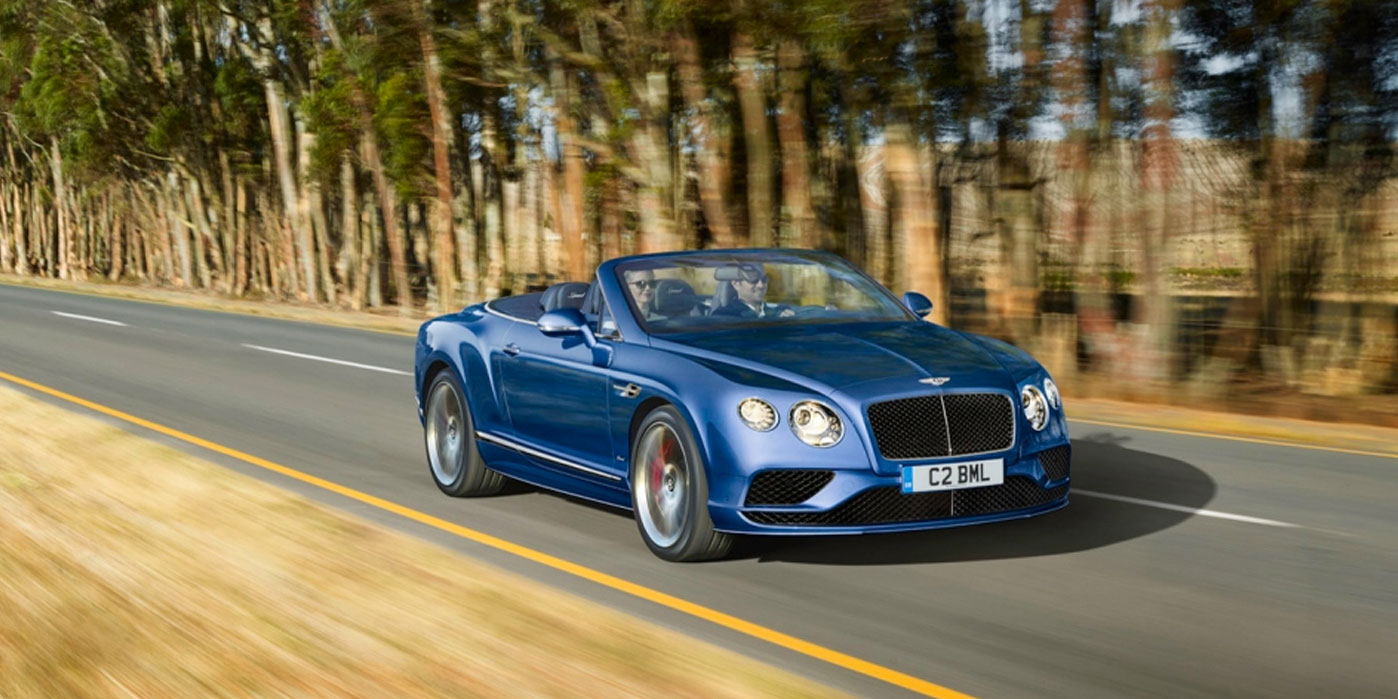 Bentley Continental GT Speed Convertible - Take in more of every spectacular journey image 4