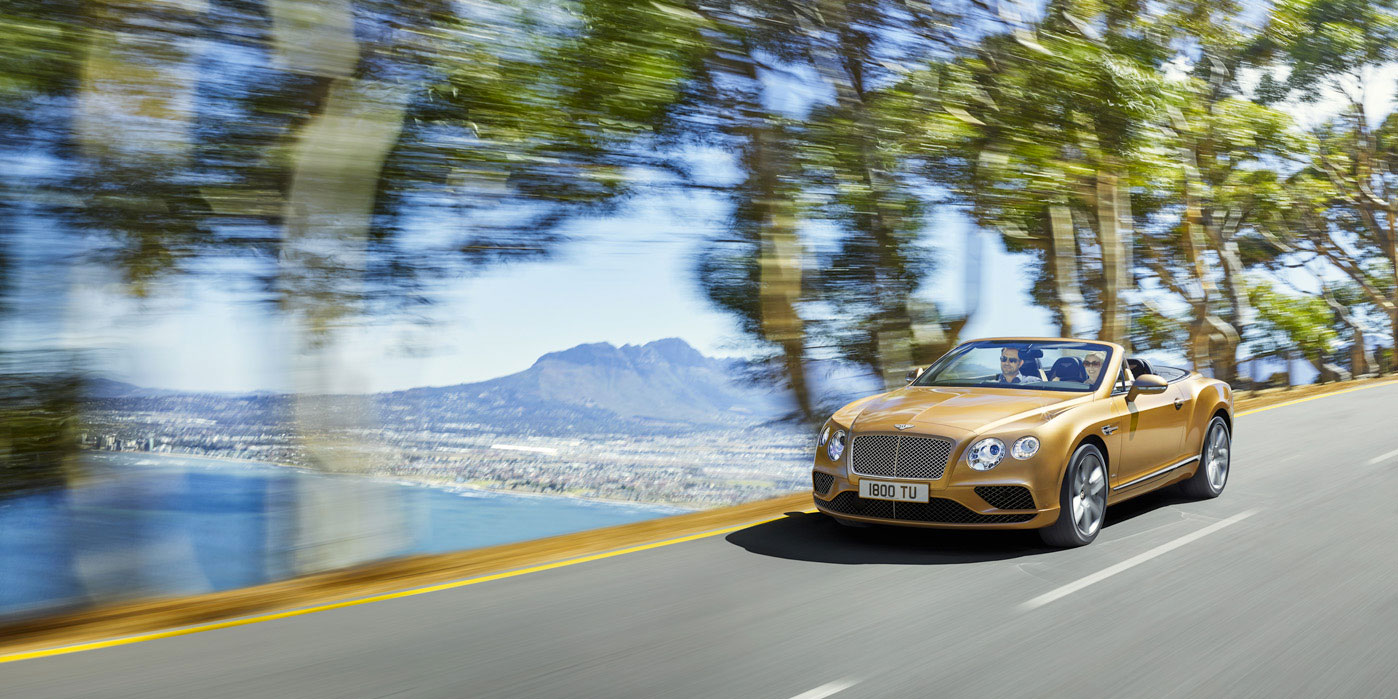 Bentley Continental GT Convertible - The convertible that soothes or stirs the soul image 1