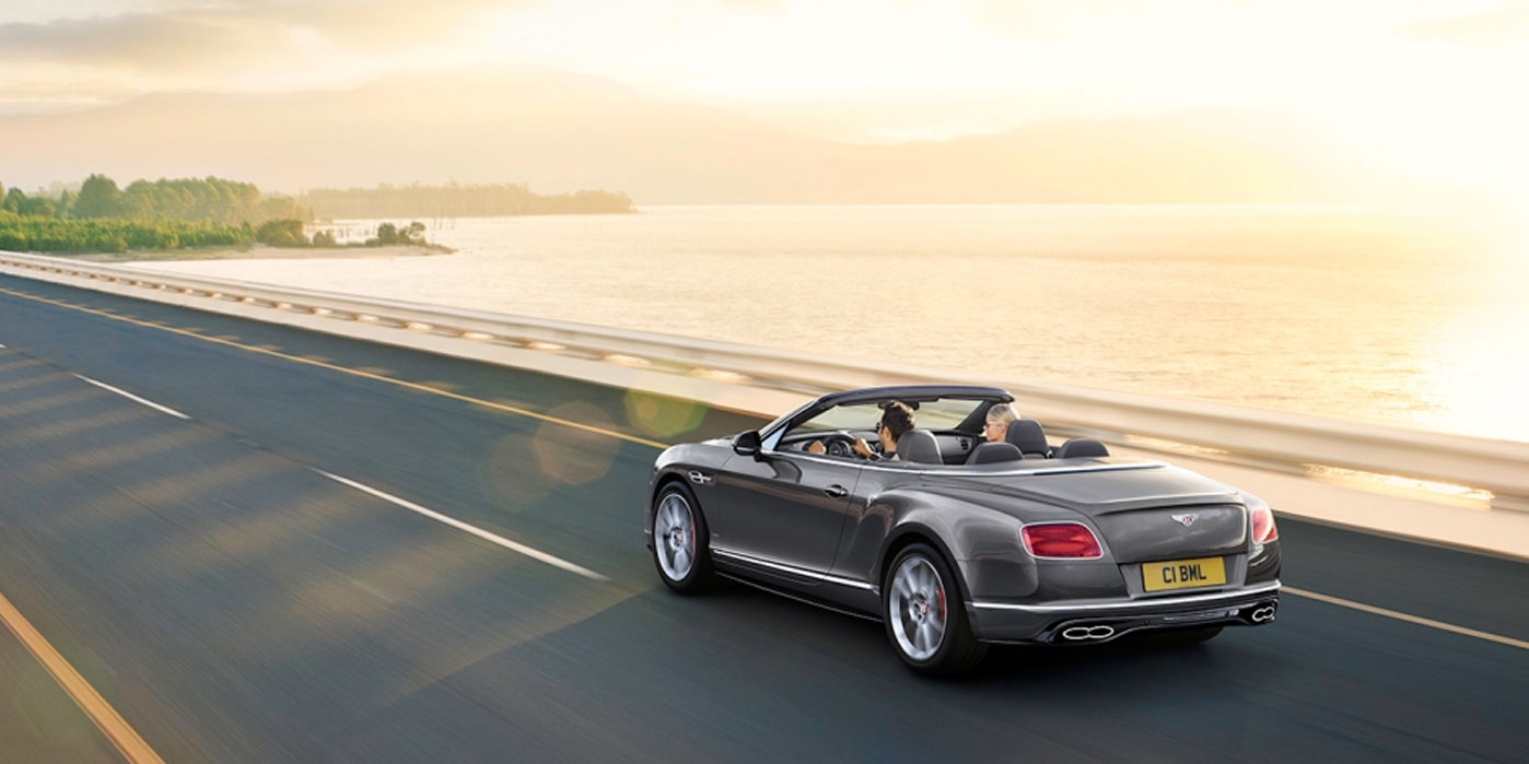 Bentley Continental GT V8 S Convertible - Incredible sound, best enjoyed with the top down image 3