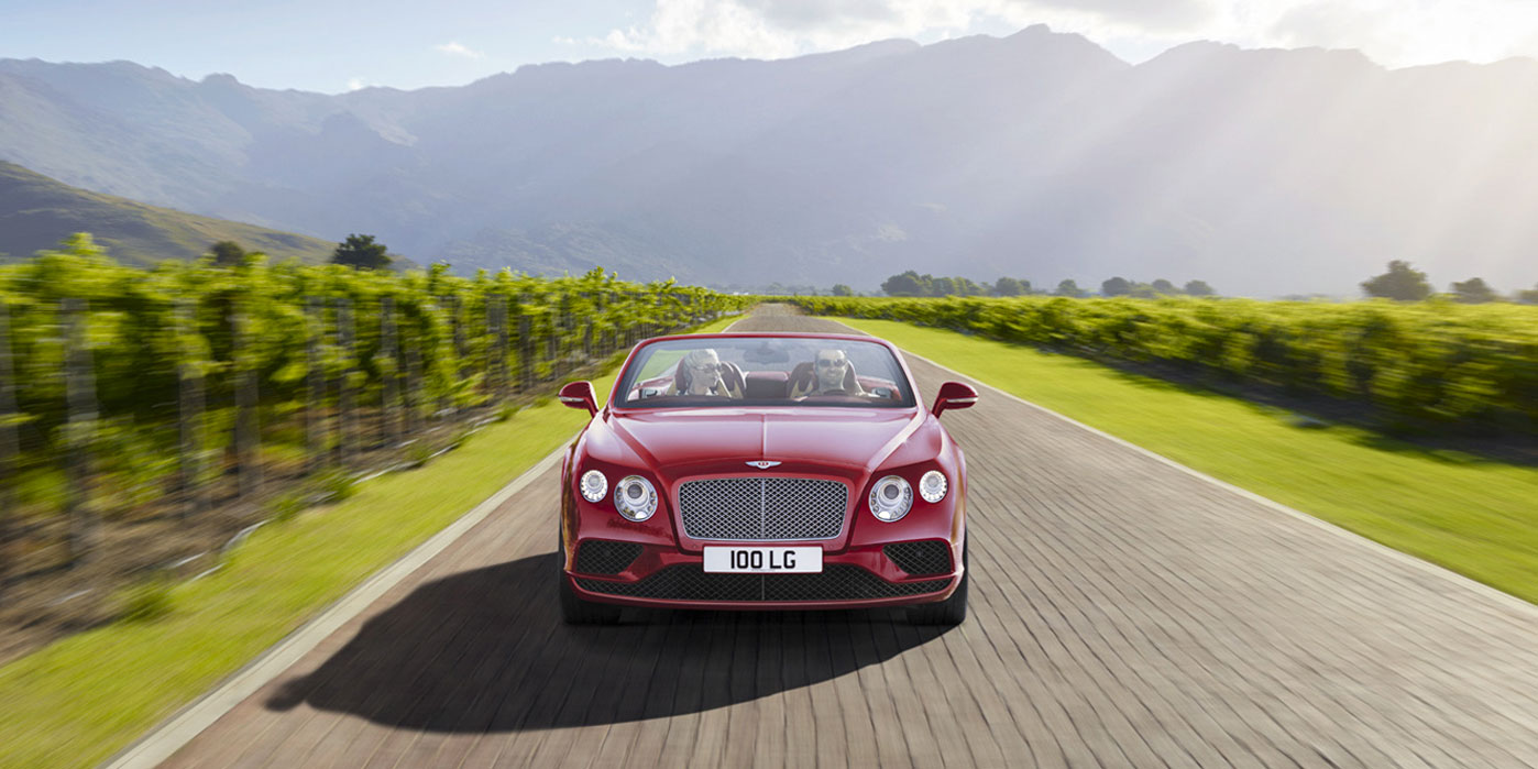 Bentley Continental GT V8 Convertible - A powerful, convertible grand tourer image 4