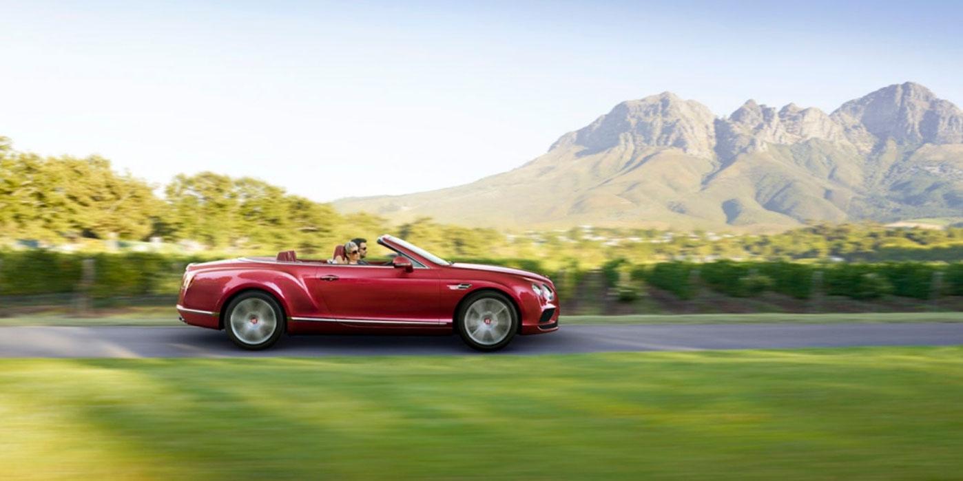 Bentley Continental GT V8 Convertible - A powerful, convertible grand tourer image 3