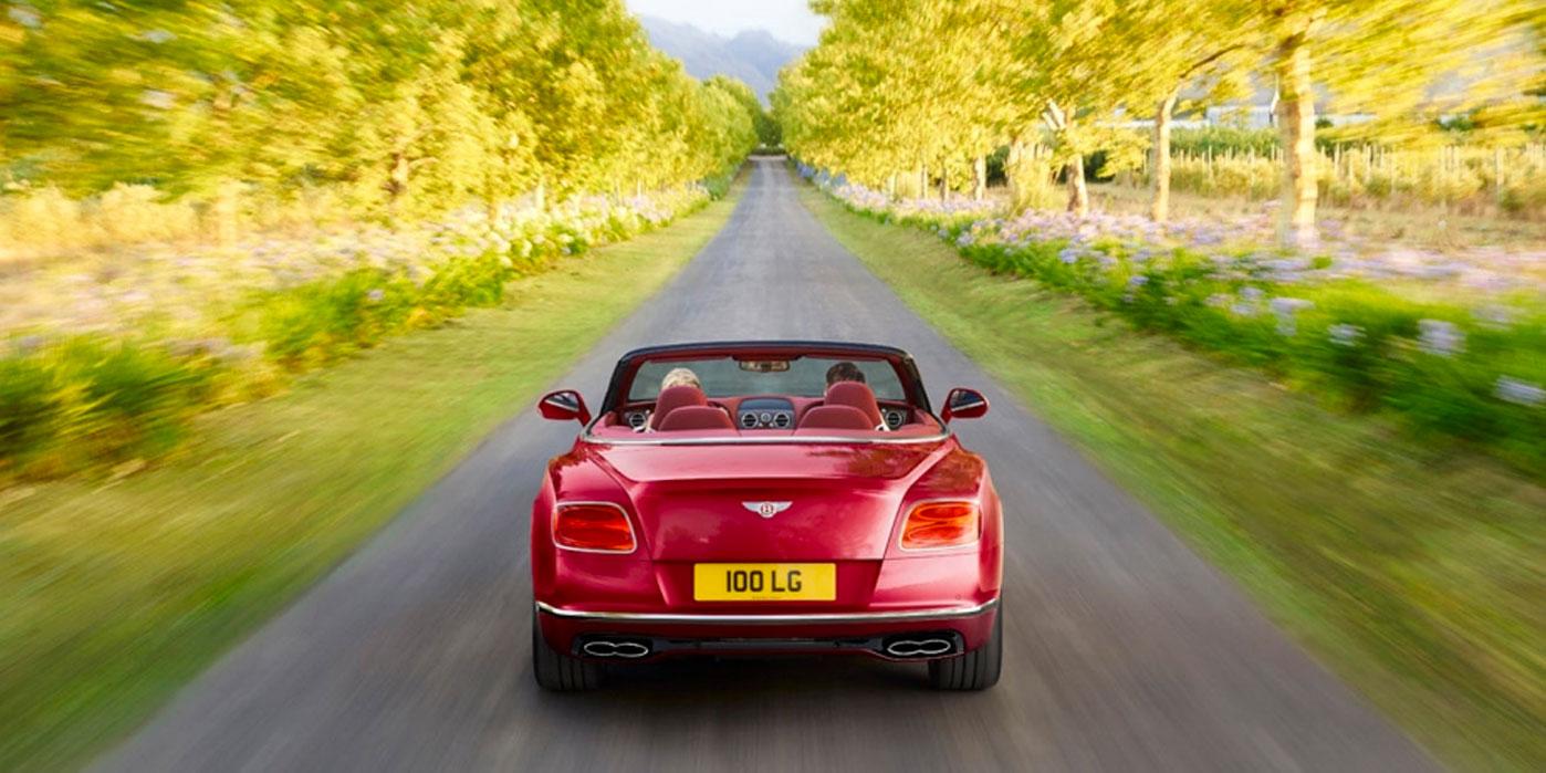 Bentley Continental GT V8 Convertible - A powerful, convertible grand tourer image 2