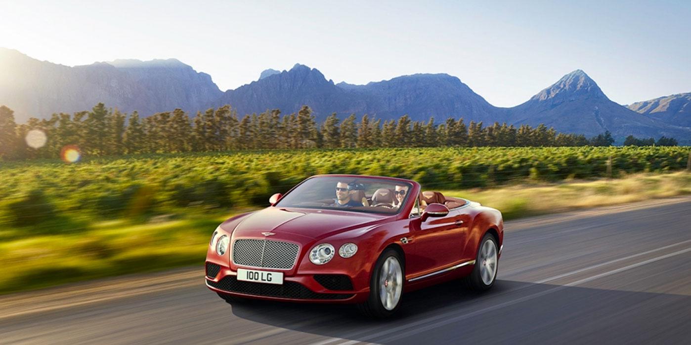 Bentley Continental GT V8 Convertible - A powerful, convertible grand tourer image 1