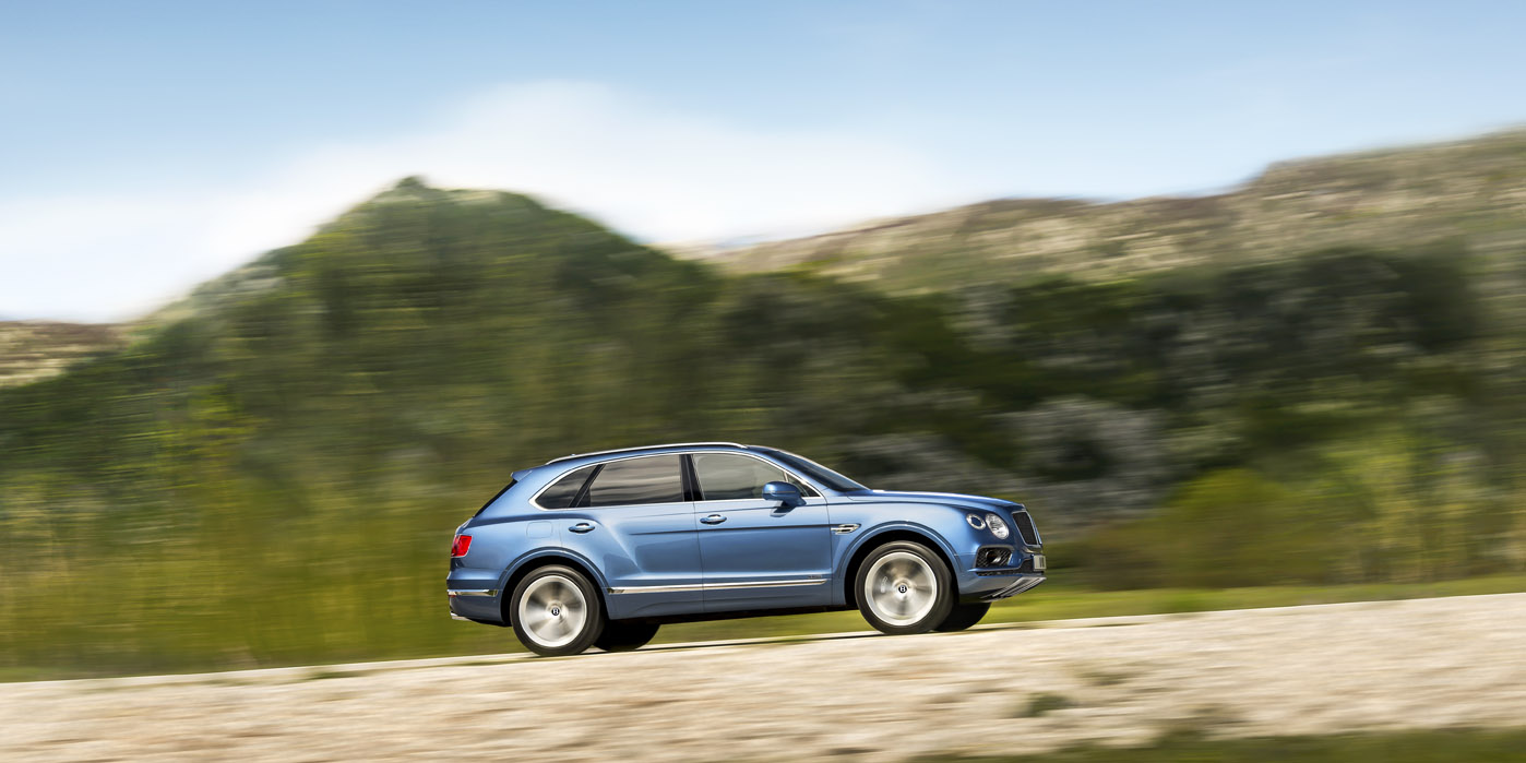 Bentley Bentayga Diesel - The first diesel in the marque's history image 1