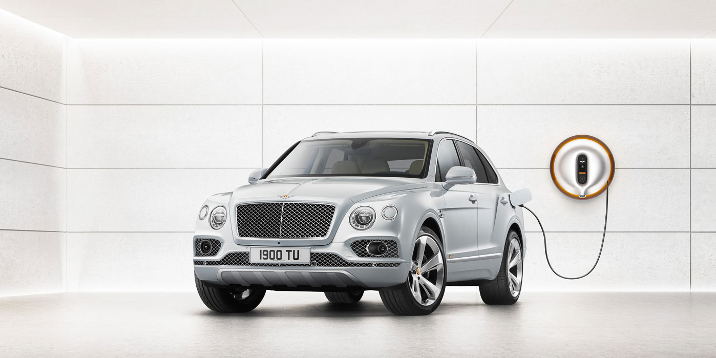 Bentley Bentayga Hybrid -  Bentley's first luxury hybrid image 1