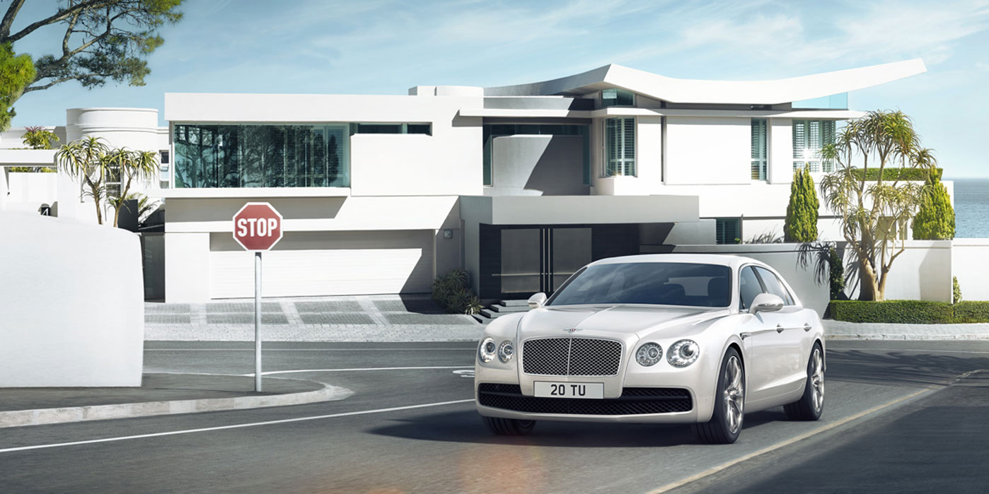 Bentley Flying Spur V8 - Innovatively designed, precision-engineered image 1
