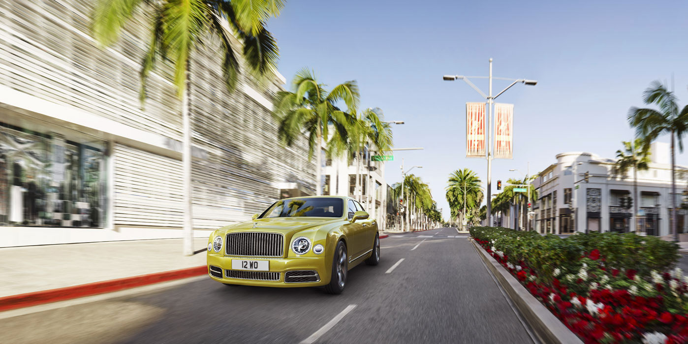 Bentley Mulsanne Speed - The most powerful four-door car in the world image 1