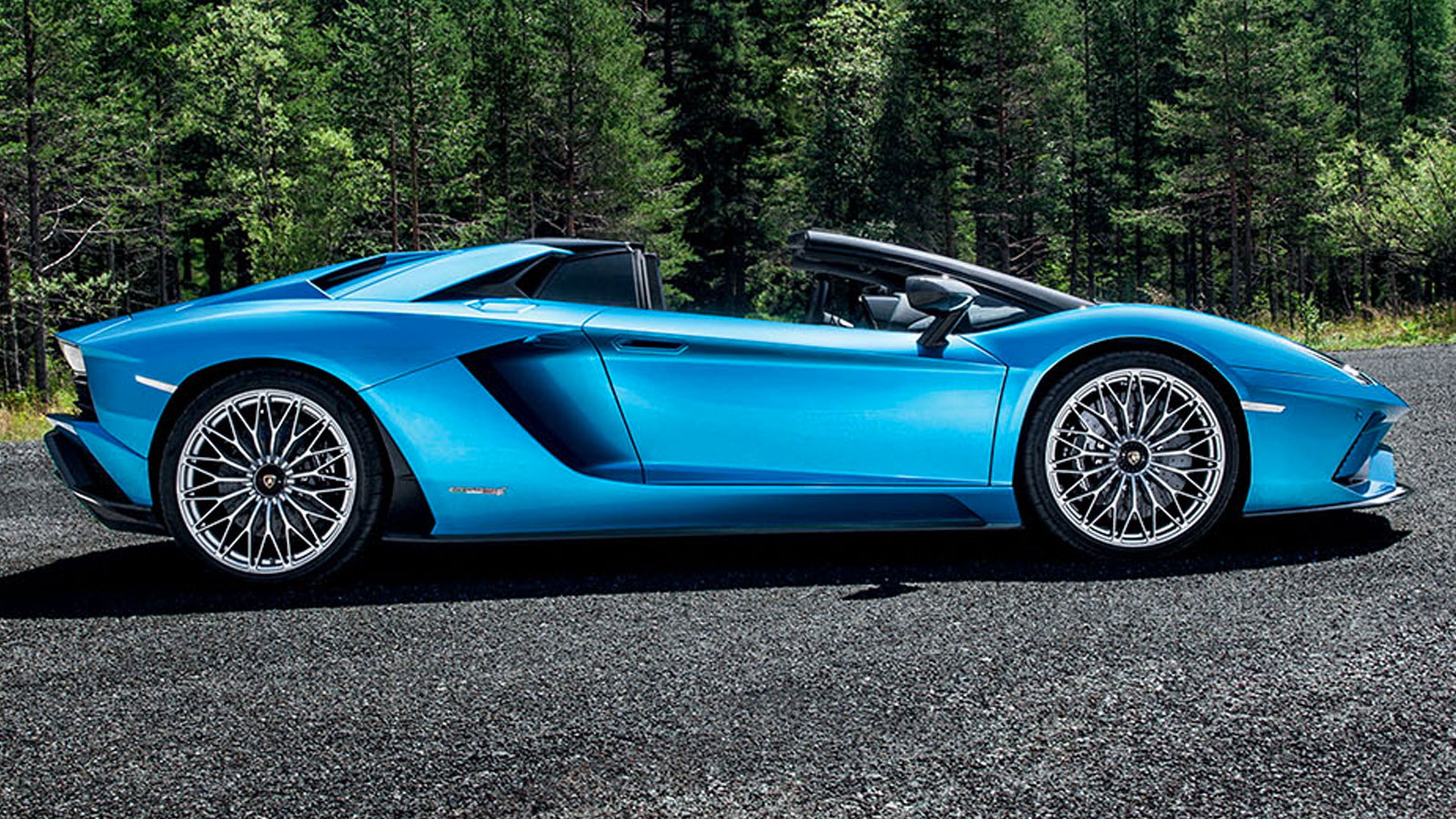 Lamborghini Aventador S Roadster - The Open Top Icon image 12