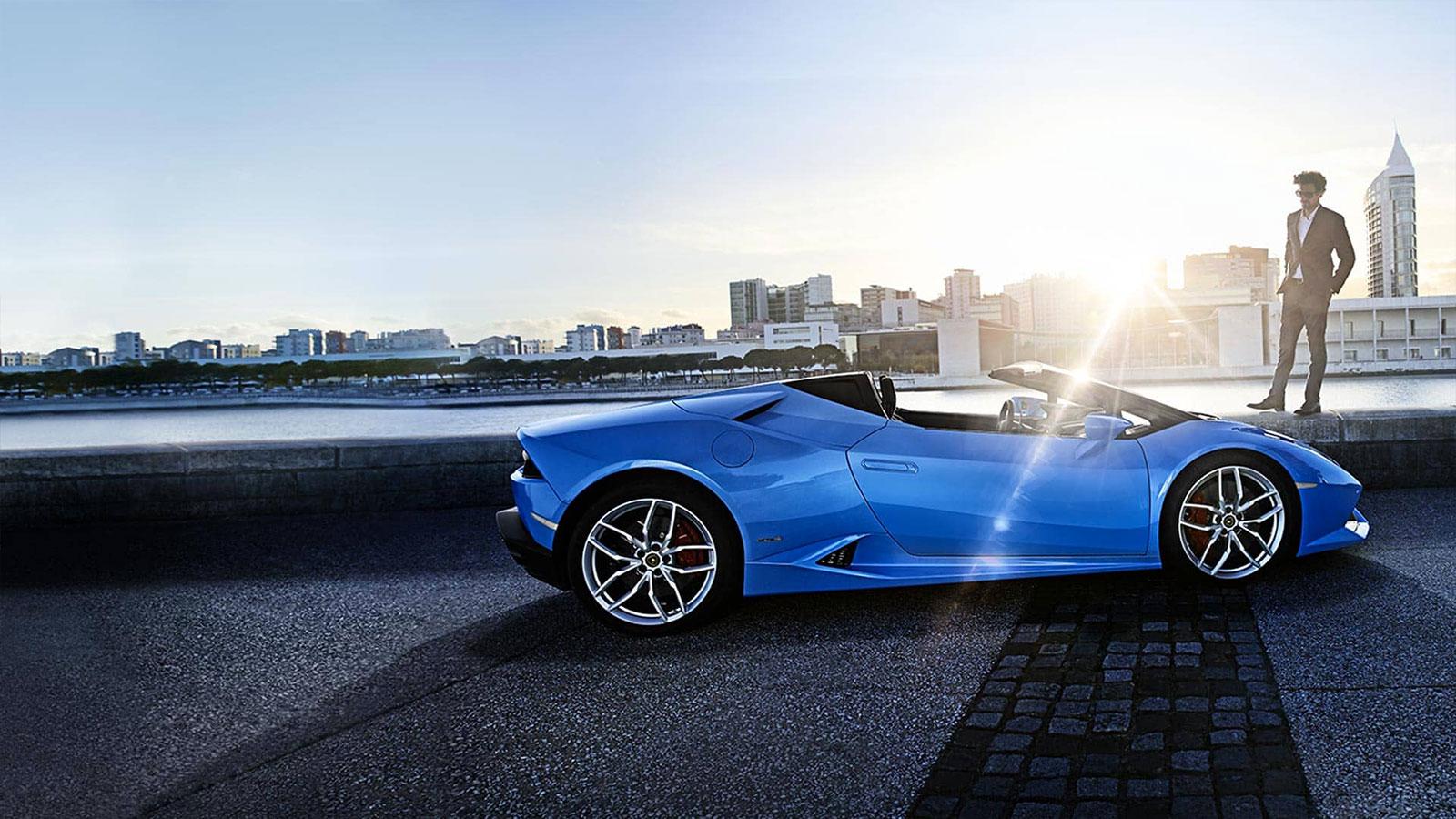 Lamborghini Huracan AWD Spyder - Inspiring Technology image 3