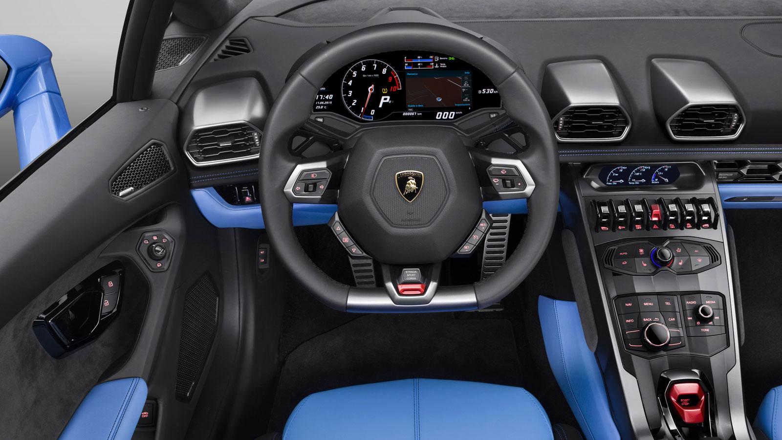 Lamborghini Huracan AWD Spyder - Inspiring Technology image 9