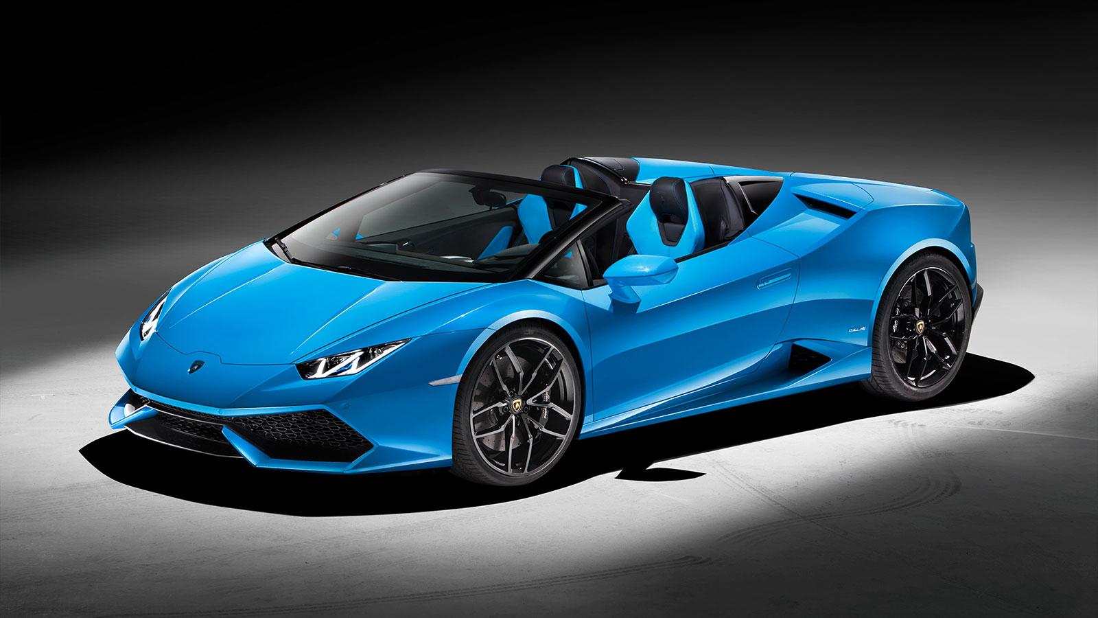 Lamborghini Huracan AWD Spyder - Inspiring Technology image 12