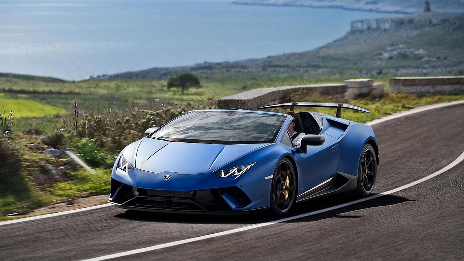 Lamborghini Huracan Performante Spyder - Vivid Technology image 6