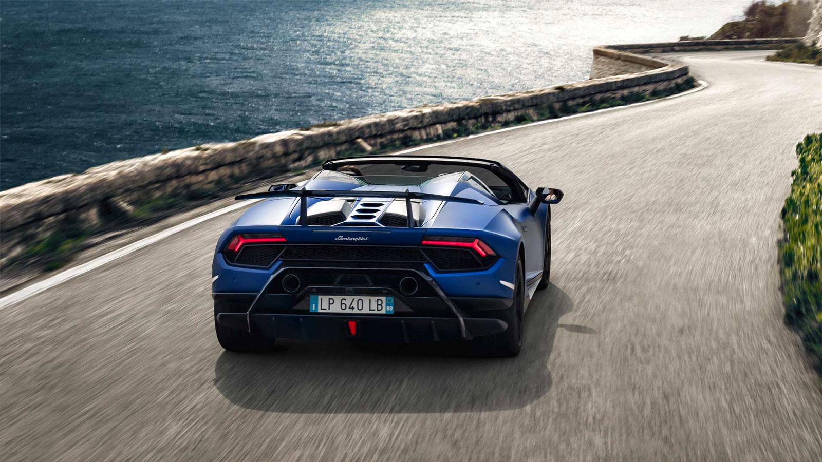 Lamborghini Huracan Performante Spyder - Vivid Technology image 8