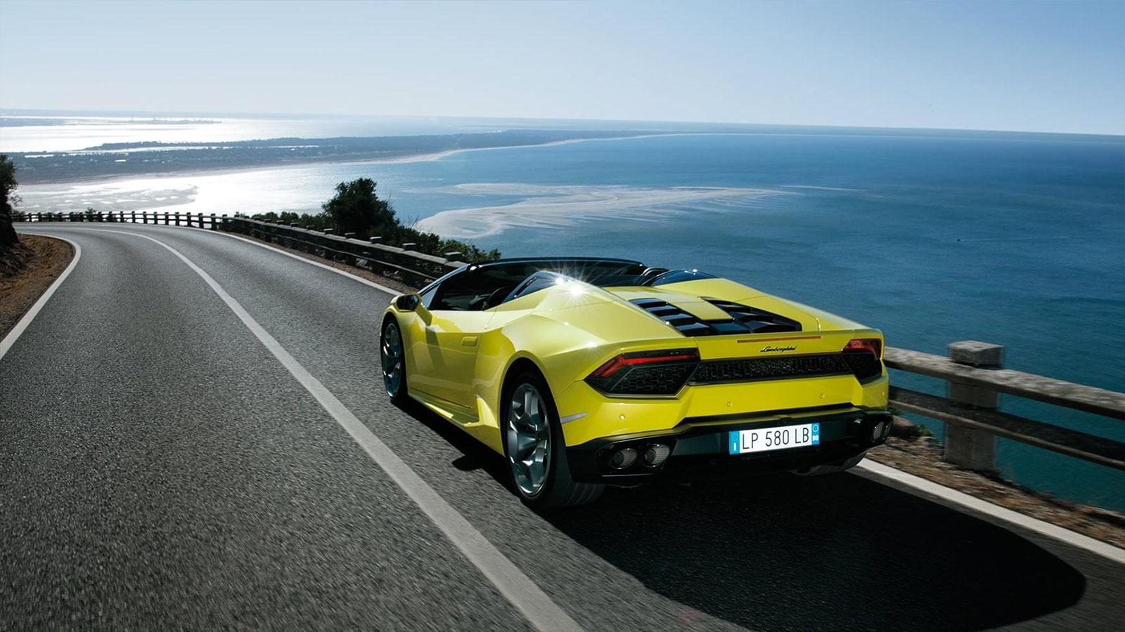 Lamborghini Huracan RWD Spyder - Breathtaking Technology image 4