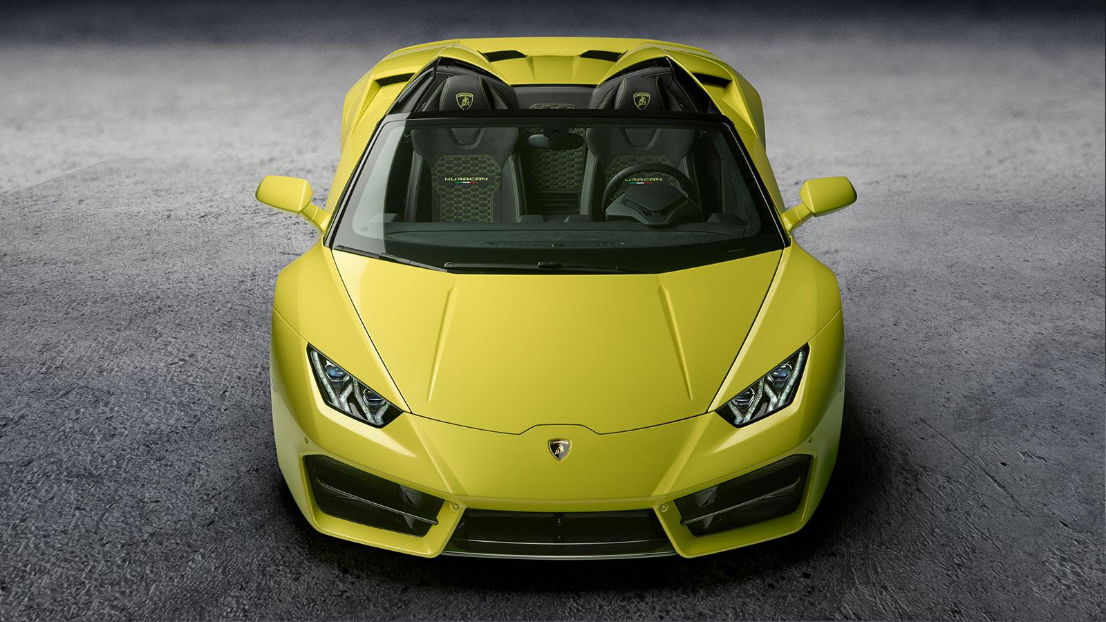 Lamborghini Huracan RWD Spyder - Breathtaking Technology image 10