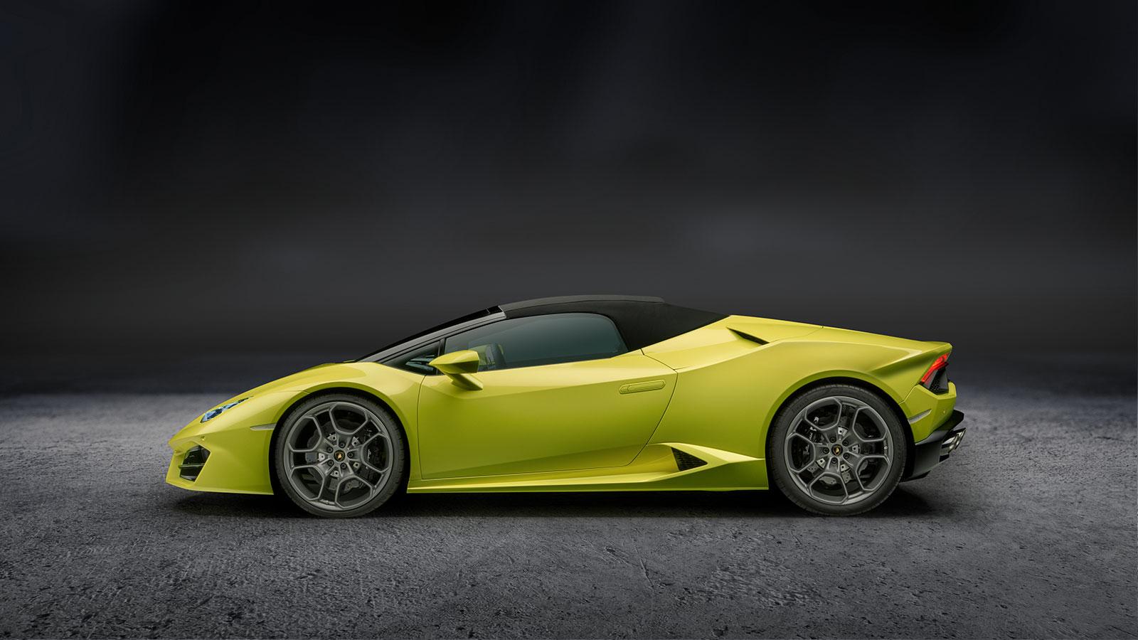 Lamborghini Huracan RWD Spyder - Breathtaking Technology image 11