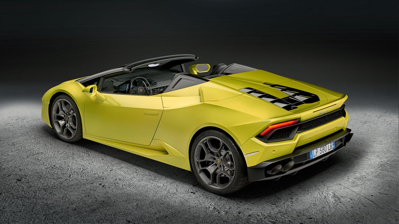 Lamborghini Huracan RWD Spyder - Breathtaking Technology image 12
