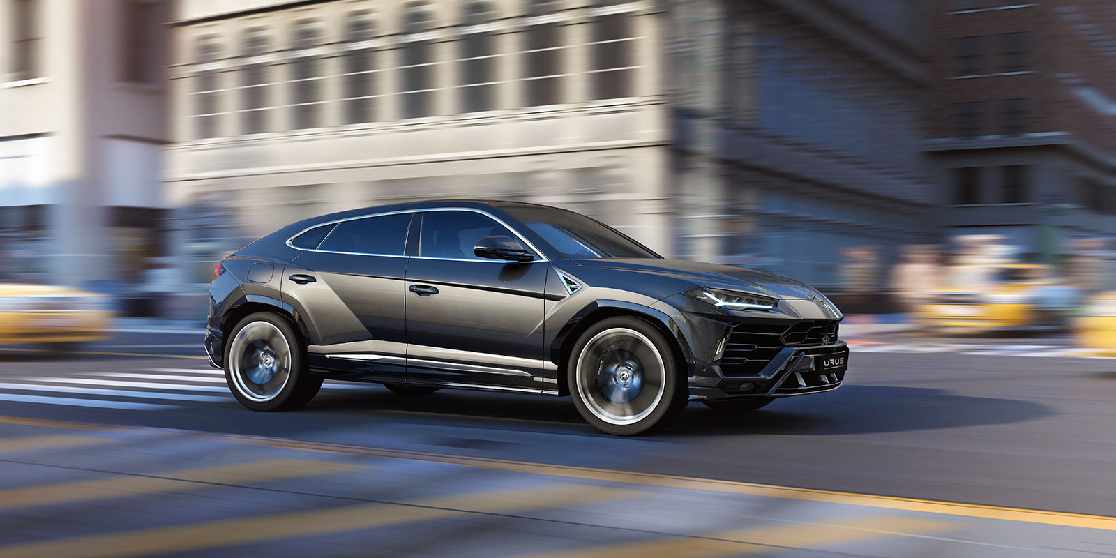 Lamborghini Urus - The World's First Super Sport Utility Vehicle image 12