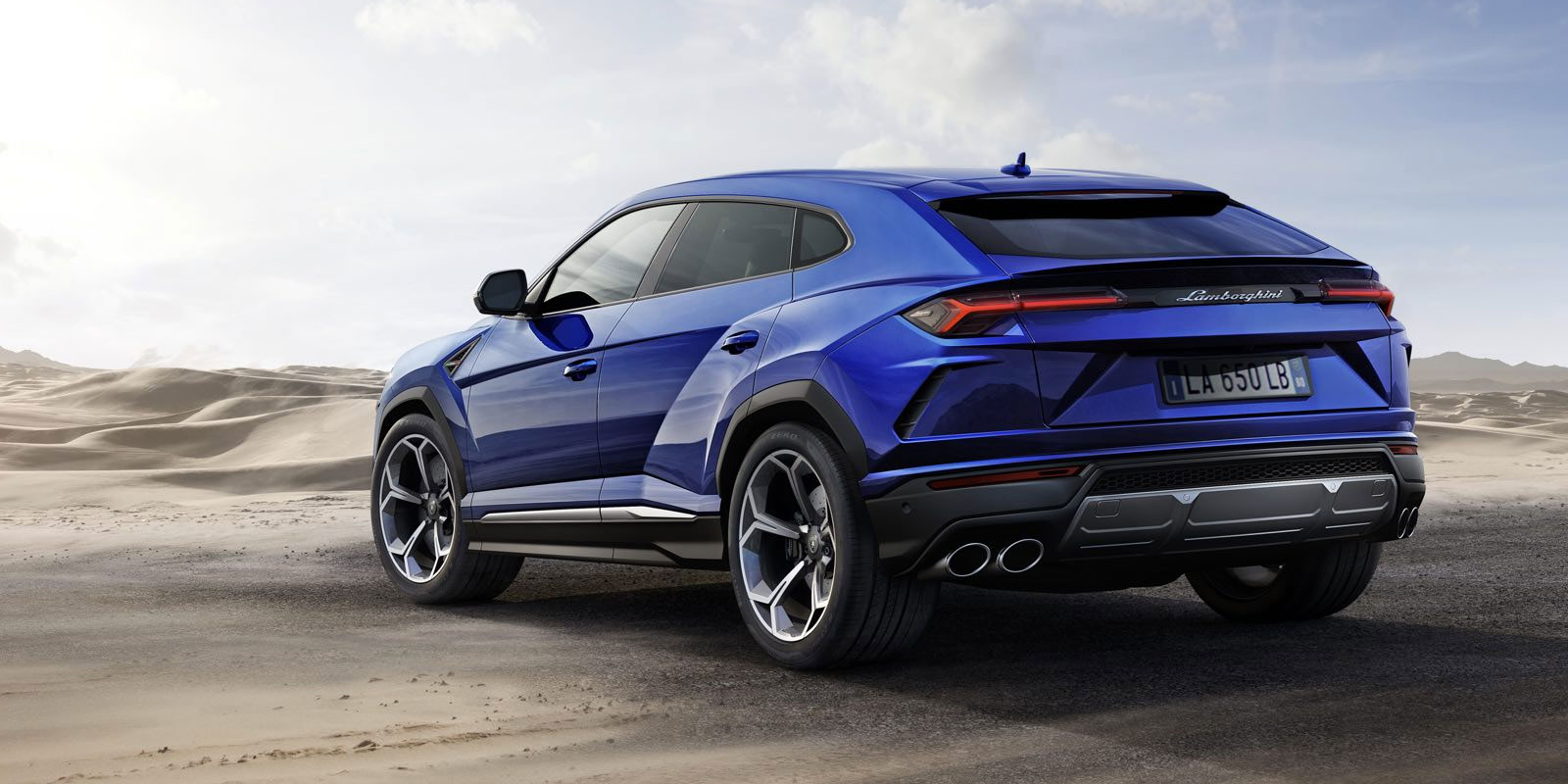 Lamborghini Urus - The World's First Super Sport Utility Vehicle image 10