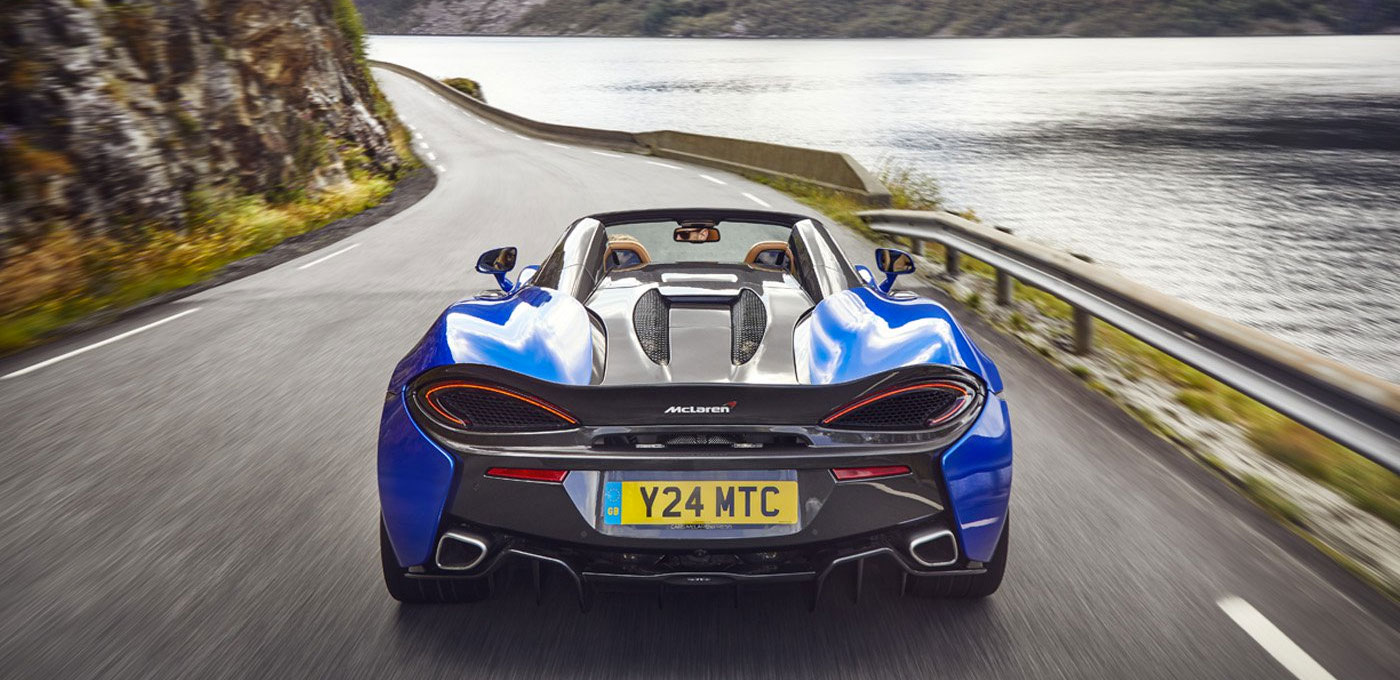 McLaren 570S Spider - For The Exhilaration image 5