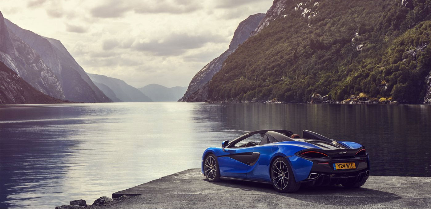 McLaren 570S Spider - For The Exhilaration image 4