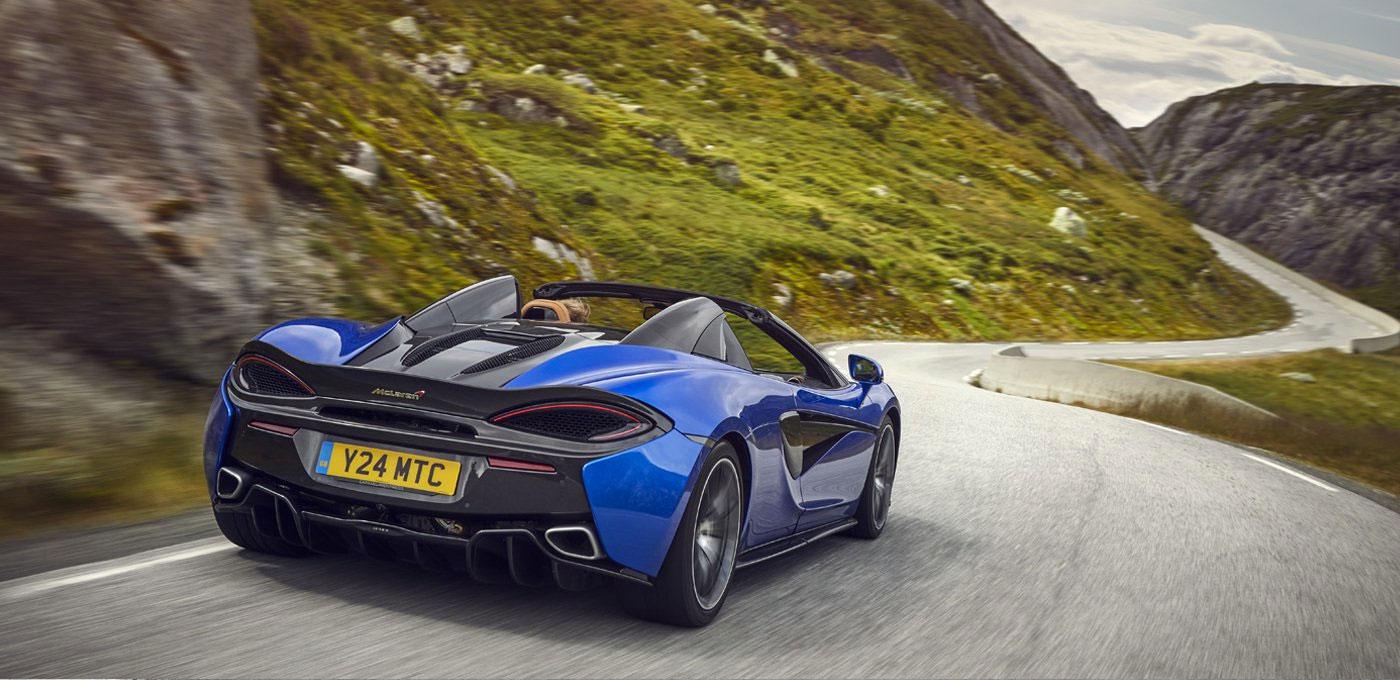 McLaren 570S Spider - For The Exhilaration image 2