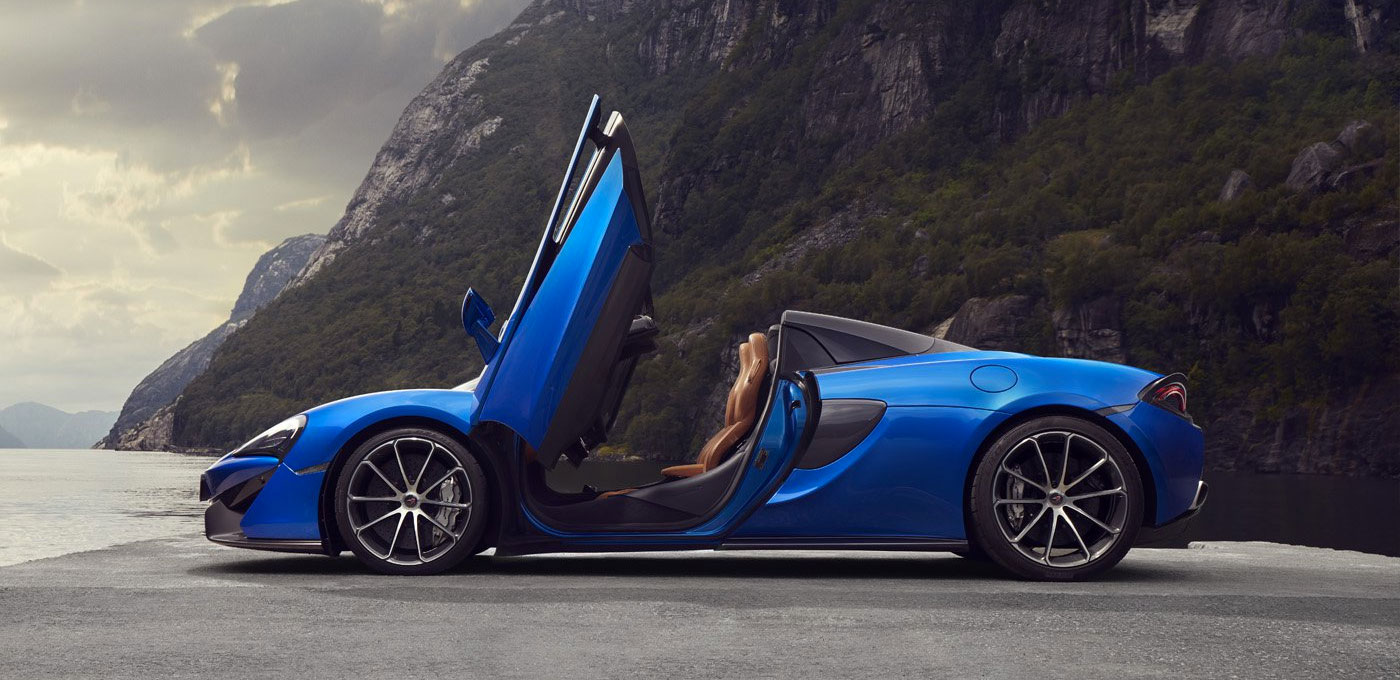 McLaren 570S Spider - For The Exhilaration image 3