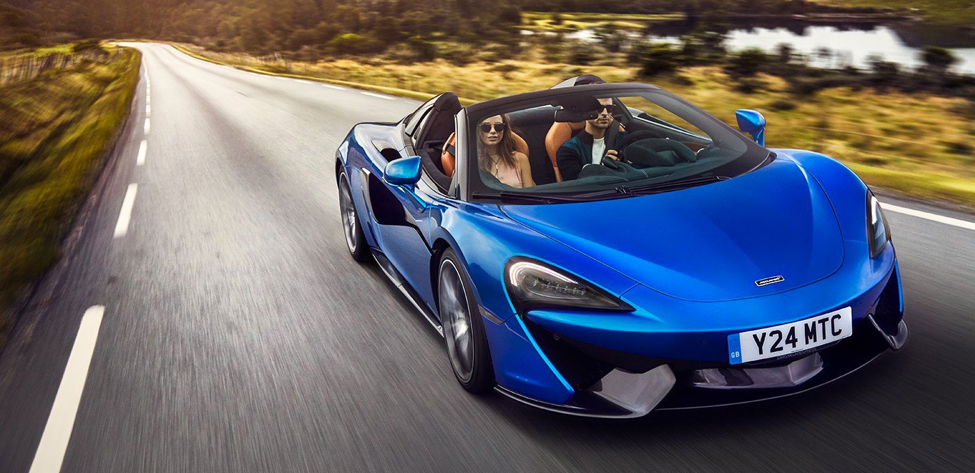McLaren 570S Spider - For The Exhilaration image 1